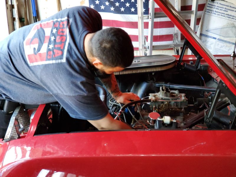 Ryan Loves Working On Cars in His Spare Time