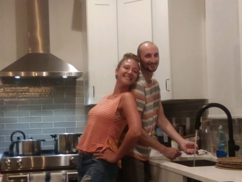 Cooking Dinner Together