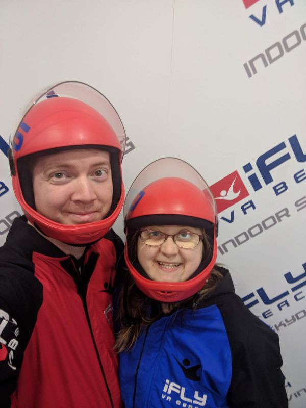 Our Indoor Skydiving Adventure