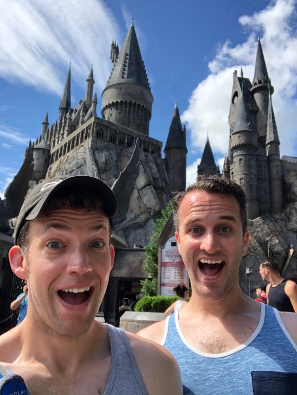 A Slytherin & Hufflepuff Walk Into a Castle ...