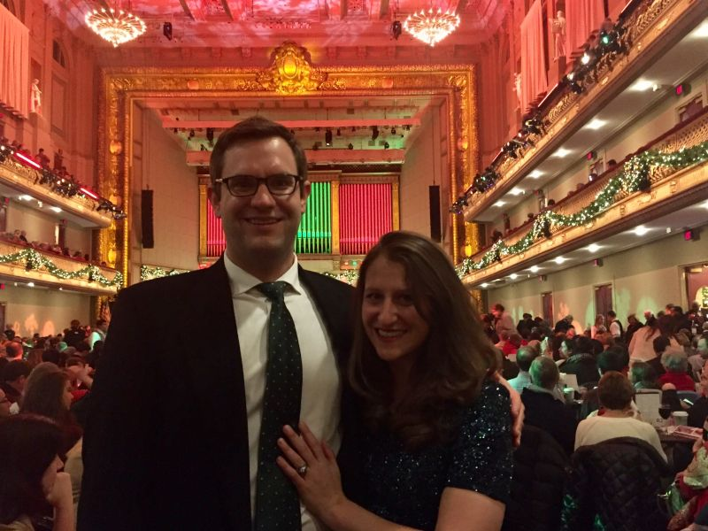 At the Holiday Pops in Boston