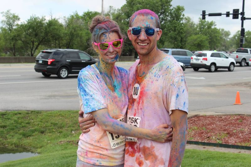 At the Color Run