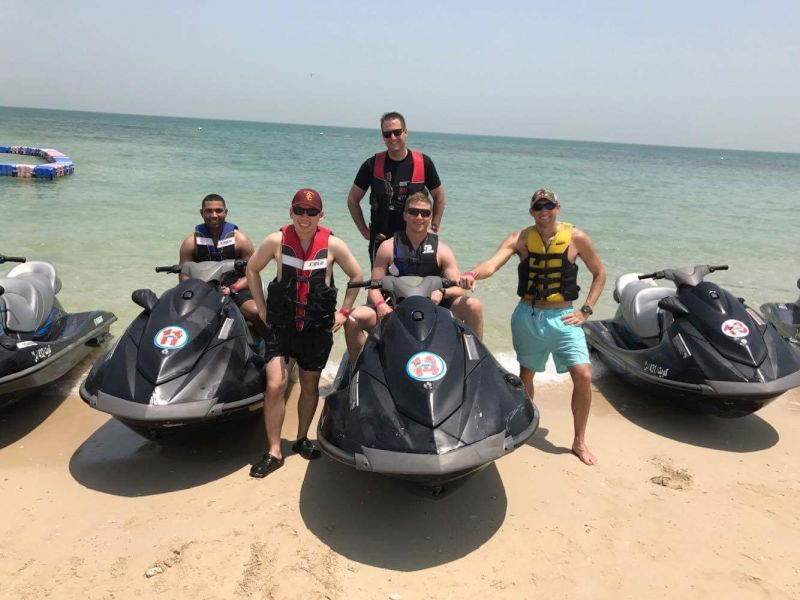 Ty Jetskiing With Friends