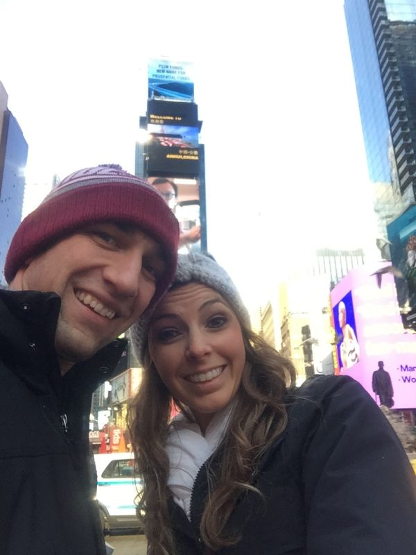 Visiting Times Square