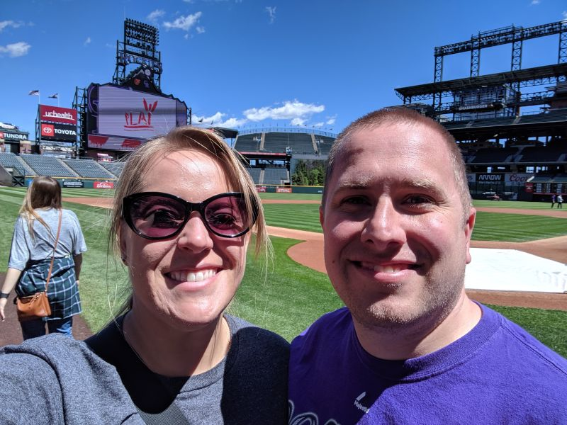 Touring Coors Field
