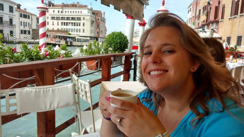 Morning Coffee in Venice