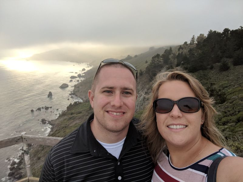 Enjoying the View in California
