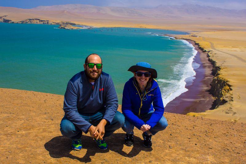 At the Paracas Cliffs