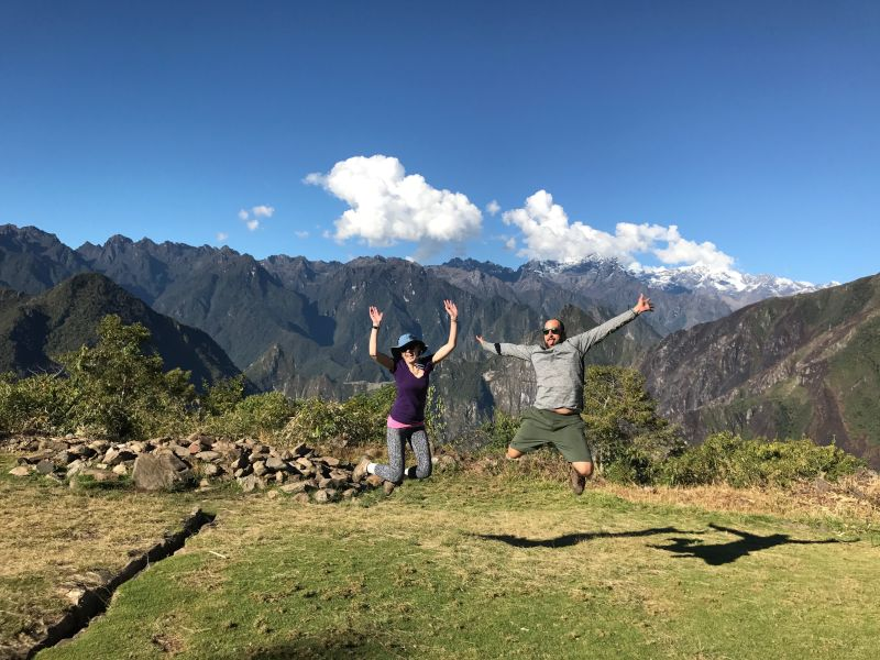 Jumping for Joy in Peru