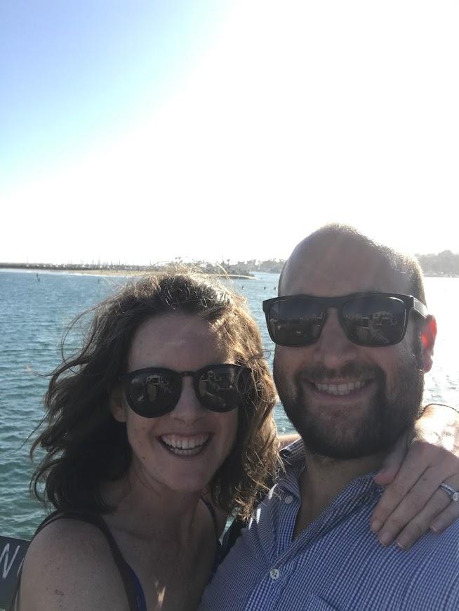 On the Pier in Santa Barbara