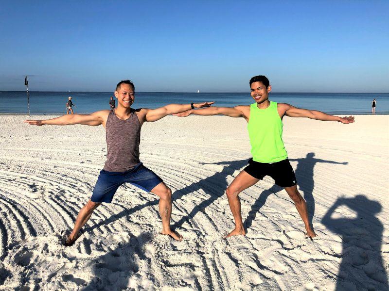 Morning Yoga in Marco Island