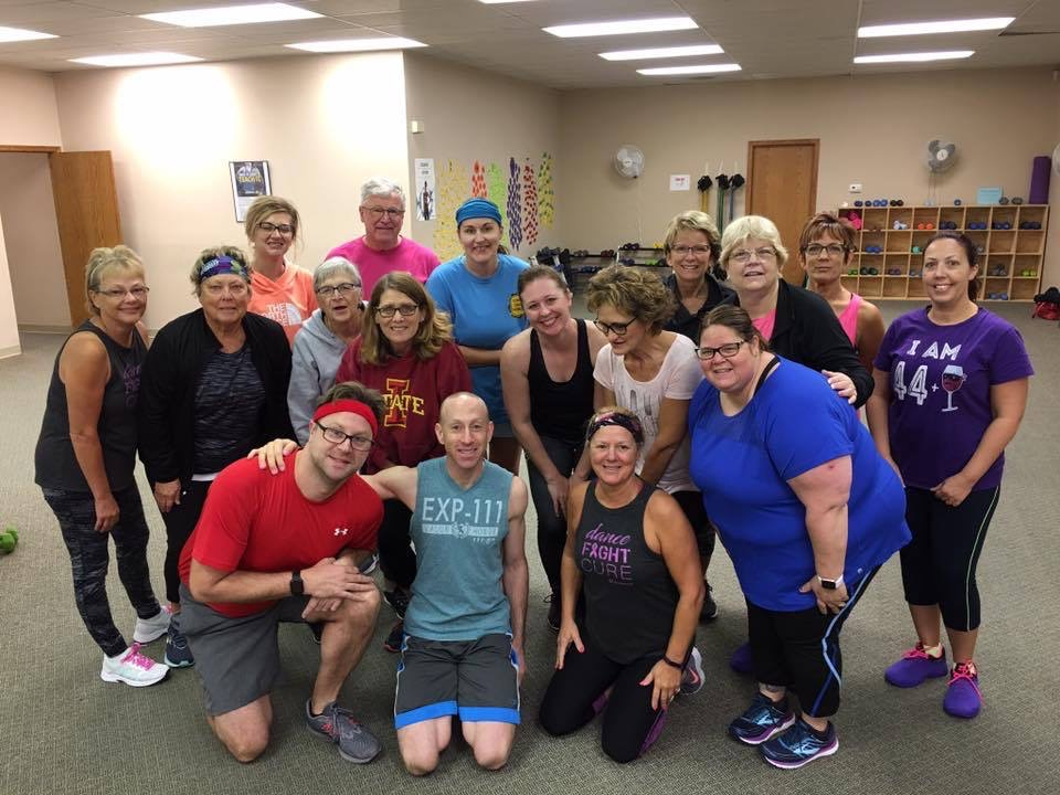 With Friends From Jazzercise