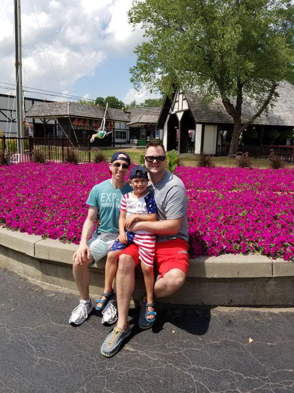 Adventureland With Our Nephew