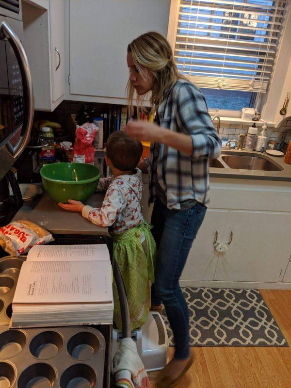 Kate & Sam Cooking Together
