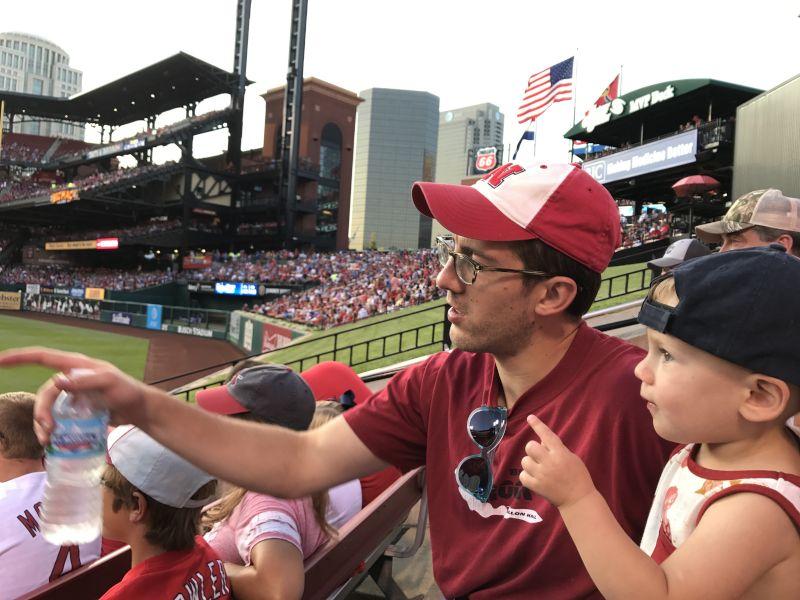 Fun at a Baseball Game