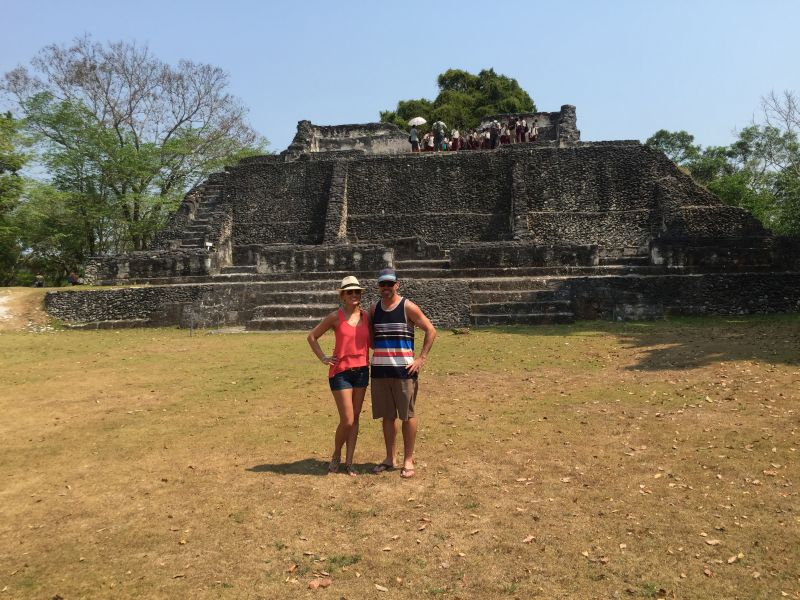 Checking Out the Ruins in Belize