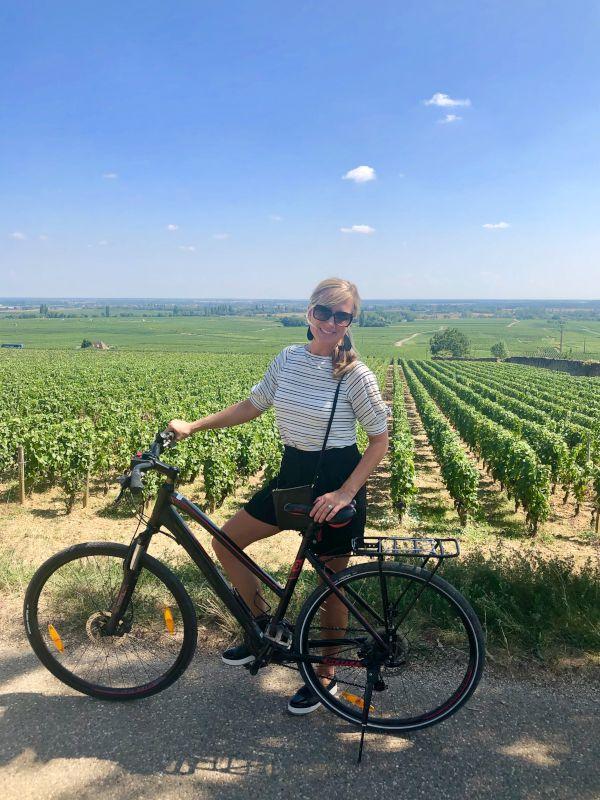 Bike Ride Through the Wine Region in France