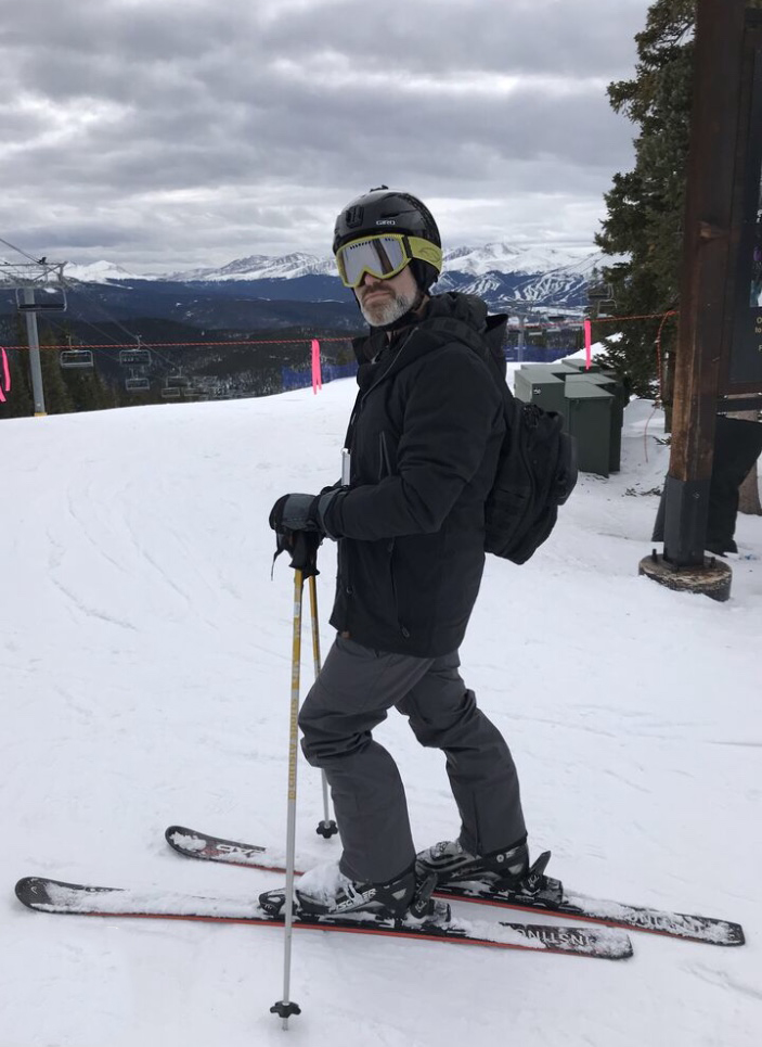 Andy Skiing