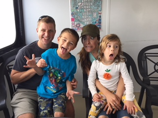Silly Faces With Our Niece & Nephew