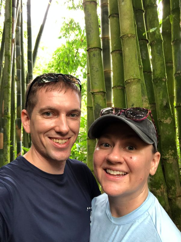 Hiking in a Bamboo Forest