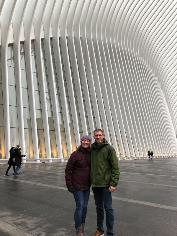 In Front of the Oculus, NYC