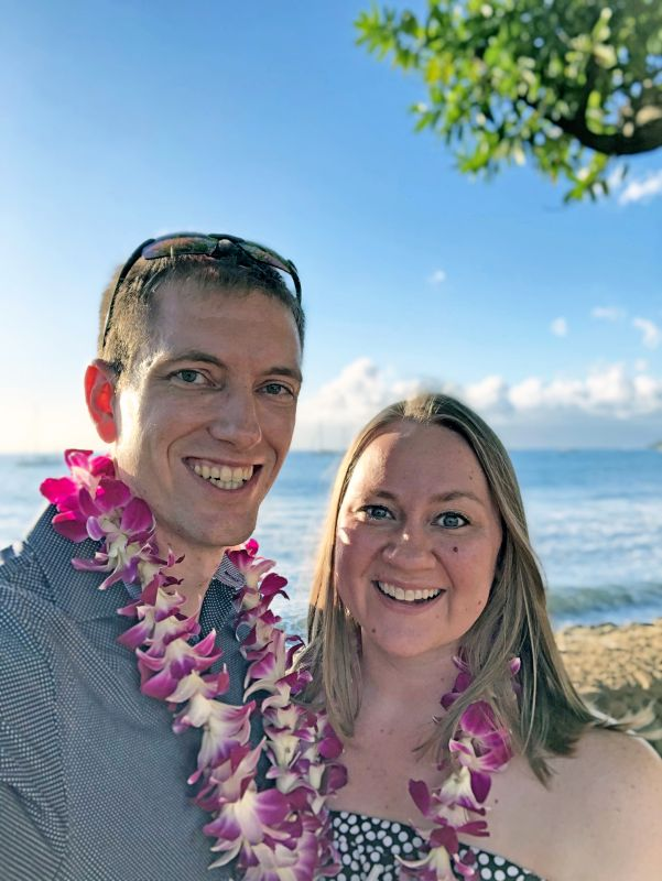 Our First Luau