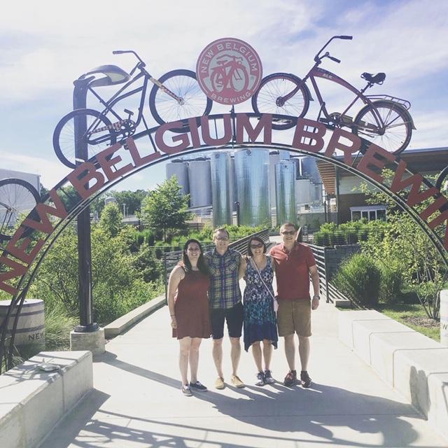 Family Trip to Asheville