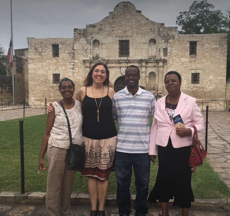 Exploring the Alamo With Gregory's Family