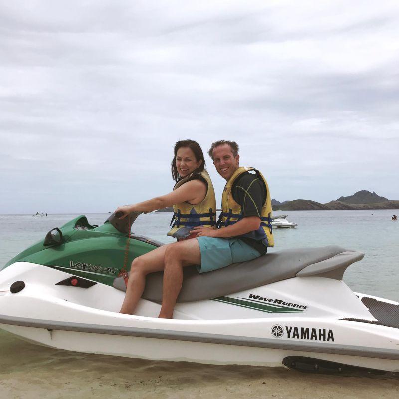 Jetskiing in Fiji