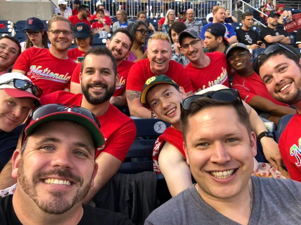 Baseball Game with Friends!