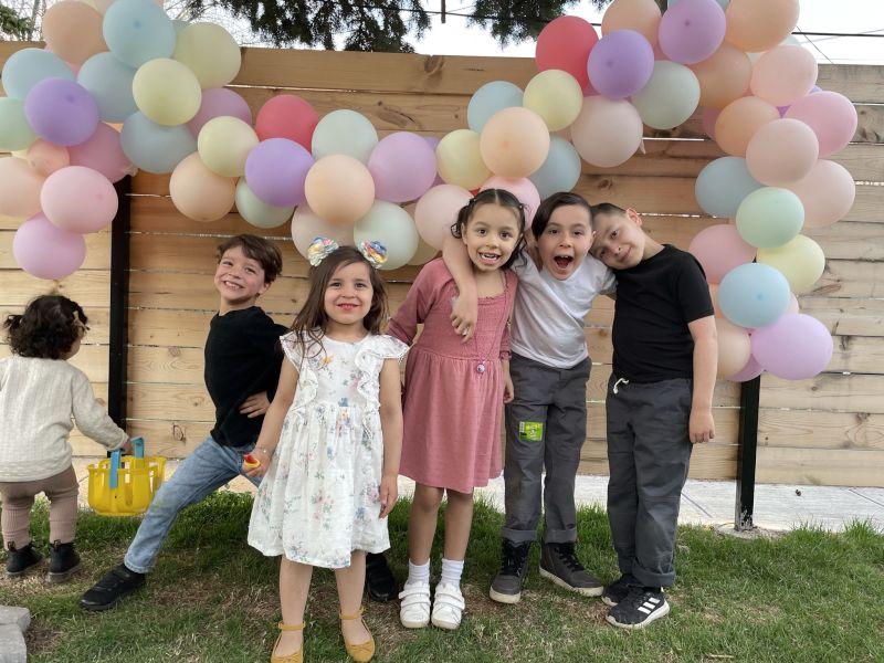 Birthday Fun with Cousins