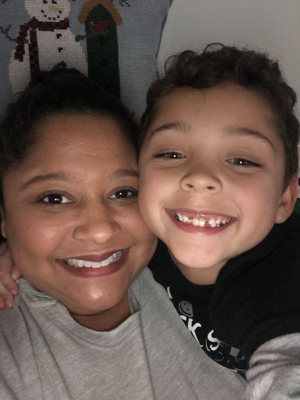 Mommy & Son Selfie