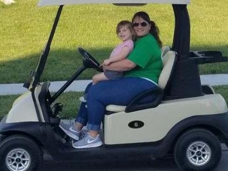 Riding the Golf Cart through the Neighborhood