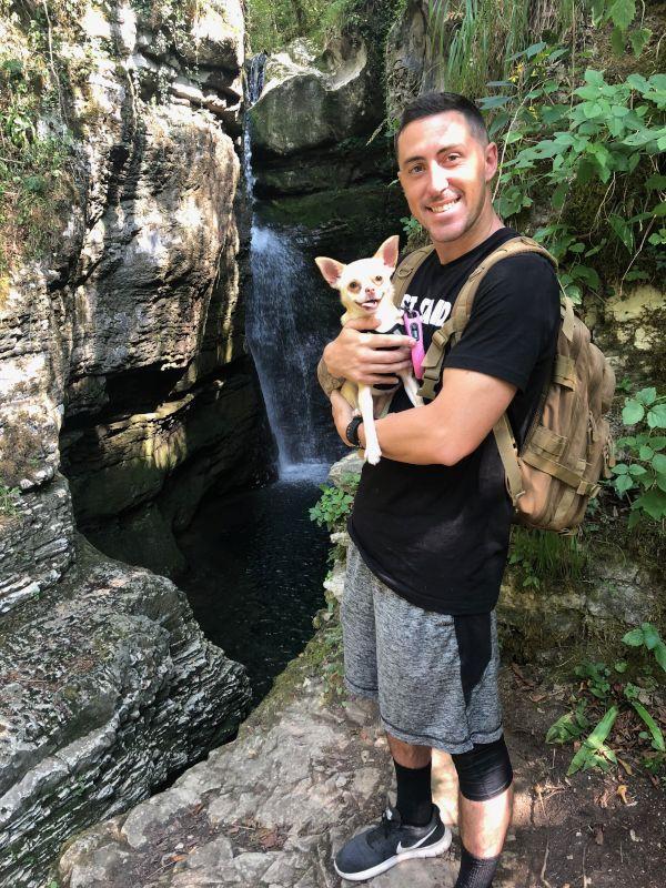 Hiking the Waterfalls in Slovenia
