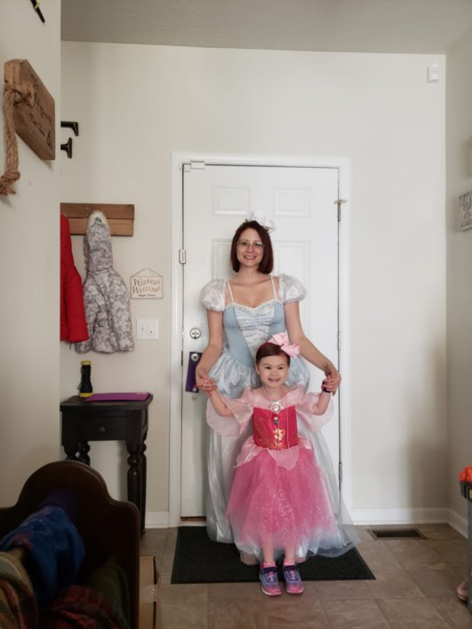 Getting Ready for a Princess Party