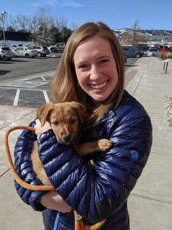 Cooper's Adoption Day
