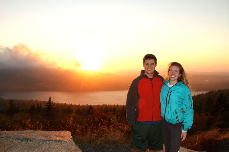 National Park Sunset