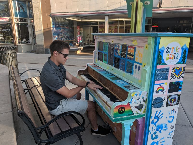 Jonny Playing Piano