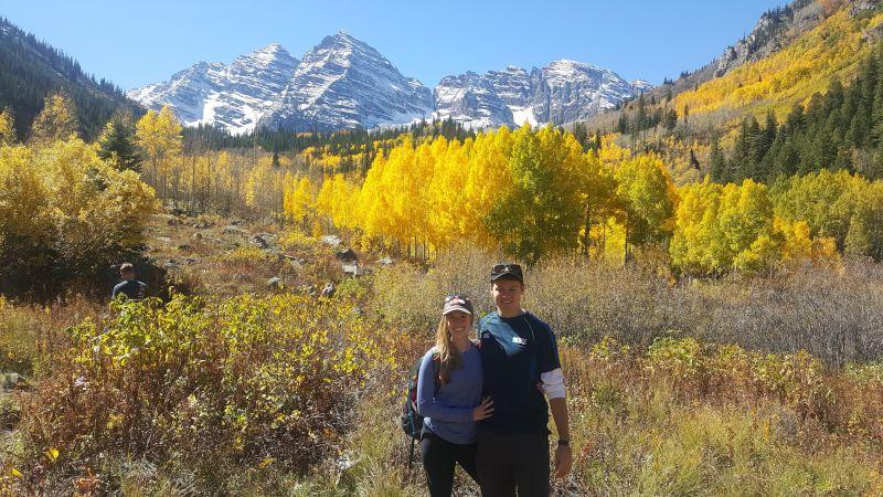 Peak Leaves in Colorado