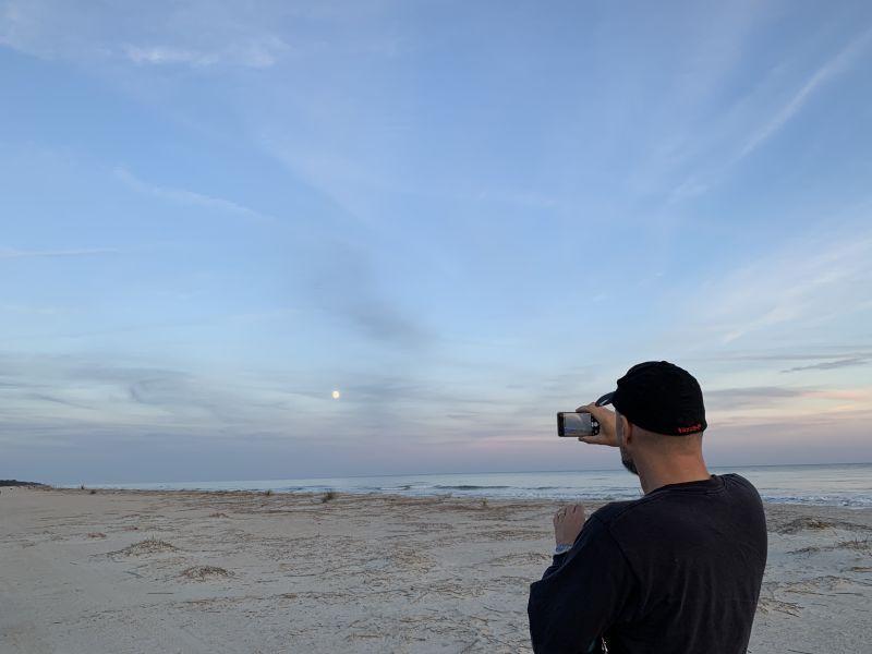 Bill at the Beach
