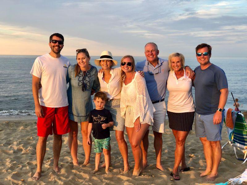 Beach Picnic with Katy's Family