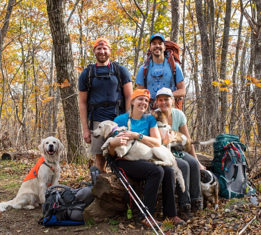 Backpacking with Our Friends Emily and Dylan