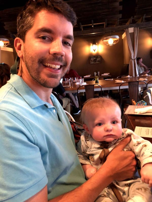 Dinner with Our Nephew Henry