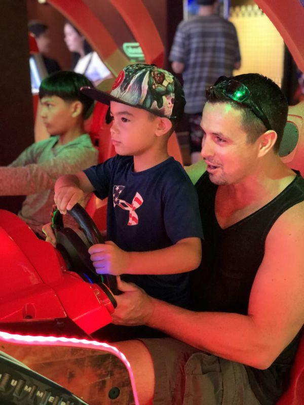Fun at an Arcade