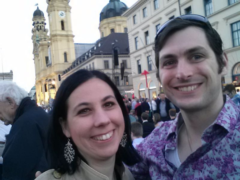 Celebrating Our Anniversary at a Concert in Munich, Germany