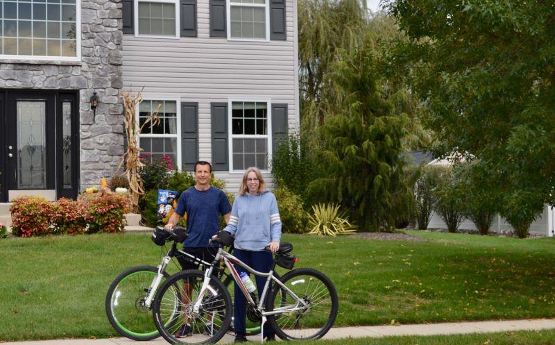 We Enjoy Going on Bike Rides Together