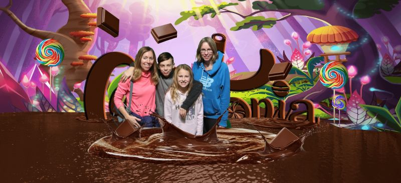 Fun with Family at Candytopia
