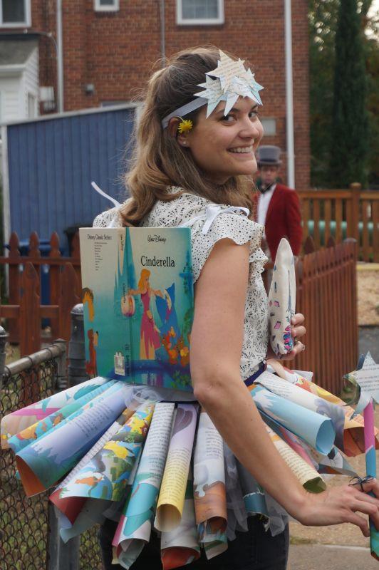 Halloween as a Book Fairy