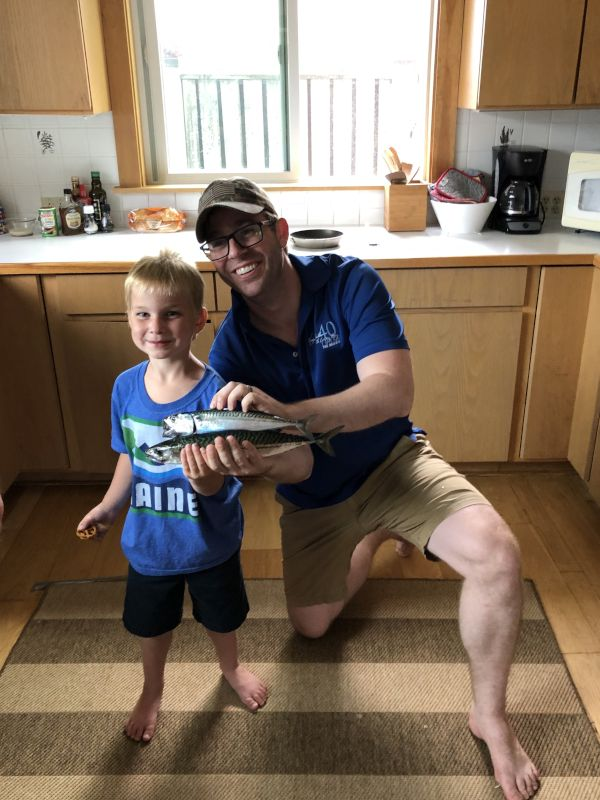 Holy Mackerel! Fishing With Our Nephew