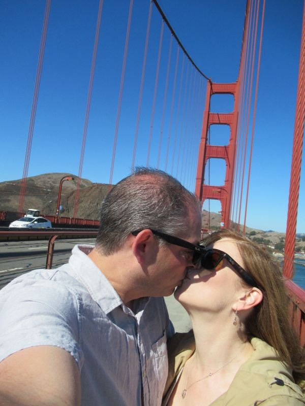 Love on the Golden Gate Bridge